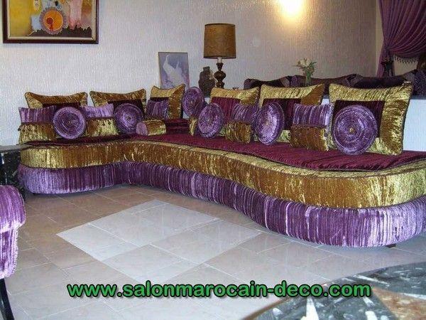 dcoration pour salon du maroc moderne - Decoration Salon Marocain Moderne