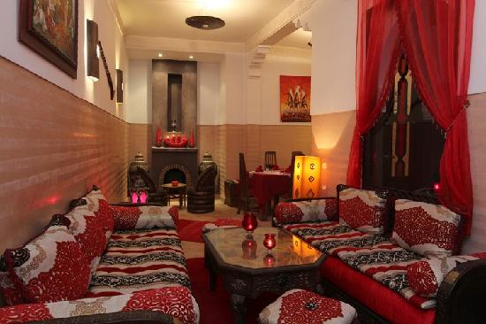 Salon marocain for Decoration des maisons marocaine